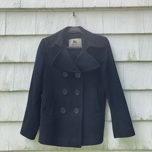Burberry Wool & Cashmere Pea Coat